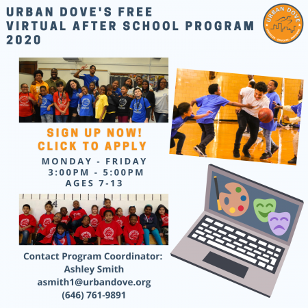 Urban Dove Brooklyn HiRisers After School Flier